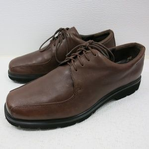 Rockport Split Toe Leather Dress Oxford Shoes 8.5W